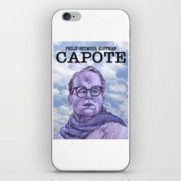 Capote iPhone Skin