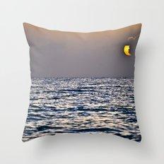 Key Sunset Throw Pillow