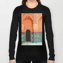 marrakech doorway Long Sleeve T-shirt