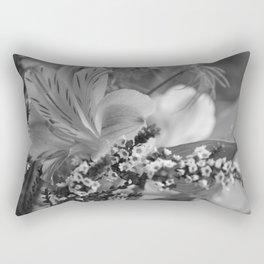 Freesia 2 B&W Rectangular Pillow