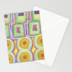Double Rows over Double Rows Stationery Cards