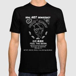 Bernie Sanders Sriracha Style Feel The Bern T-shirt