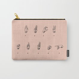 F**K TRUMP Carry-All Pouch