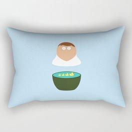 Big Flat Guy Rectangular Pillow