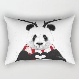 Xmas panda Rectangular Pillow