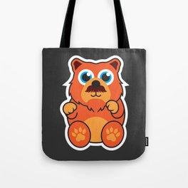 Fire Bear Tote Bag