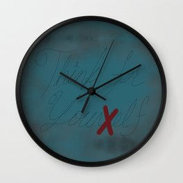 Think For Your Elf Wall Clock