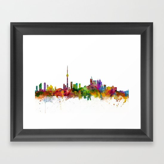 Toronto Canada Skyline by artpause