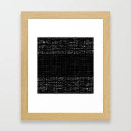 platno (center stripe) Framed Art Print