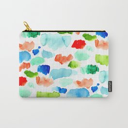 Watercolor Swatch Pattern Carry-All Pouch