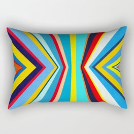 Geometric and colorful Rectangular Pillow