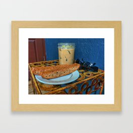 Afternoon Chill Framed Art Print