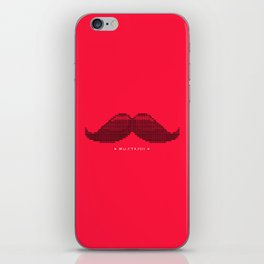 Mustascii iPhone Skin
