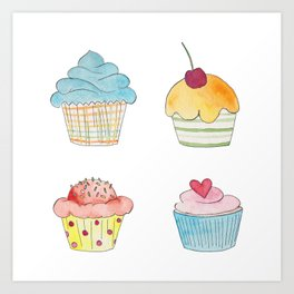 Oh My Sweetness! Art Print