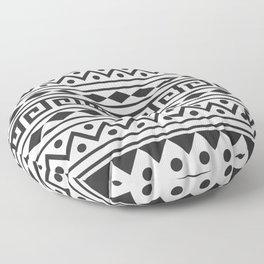 Aztec Pattern with tribal design Floor Pillow
