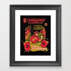 Radioactive Comics Framed Art Print