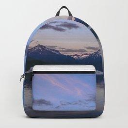 sunset at lake mcdonald Backpack