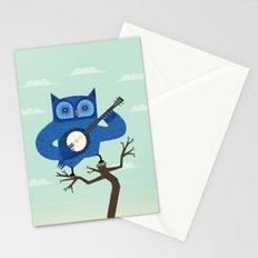 The Banjowl Stationery Cards