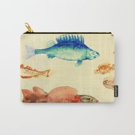 """Odilon Redon """"Fishes (Poissons)"""" Carry-All Pouch"""