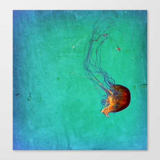 Deep Sea Ballet Canvas Print