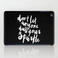 sparkle iPad Cases featuring Sparkle by Evelyne van den Broek