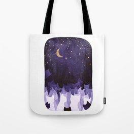 purple cats Tote Bag