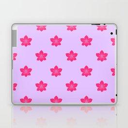 Pink orchid pattern Laptop & iPad Skin