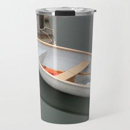 Skiff with life preserver Travel Mug