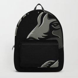 Bighorn Sheep Metallic Icon Backpack