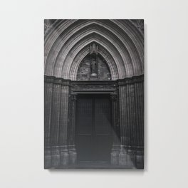 The Gates of Unwelcome Metal Print