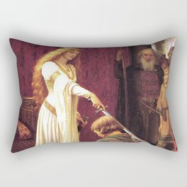 Knight of Excalibur Rectangular Pillow