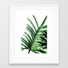 Leaves 2 Framed Art Print