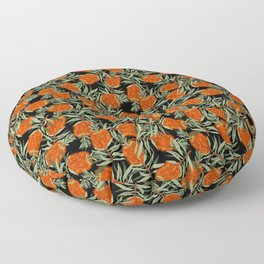 Bottlebrush Flower Floor Pillow