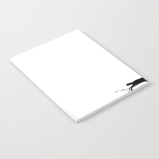 snowblinded // (wolf pack) Notebook