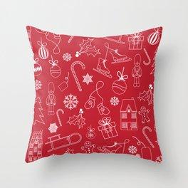 Christmas time Throw Pillow