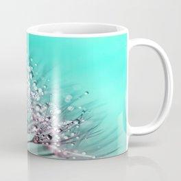 Diamond Blue Water Droplets Coffee Mug