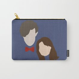 The Eleventh Doctor and the lovely Clara Oswin Oswald Carry-All Pouch