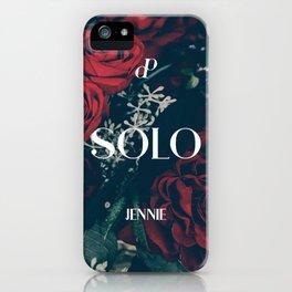 SOLO - Jennie - BLACKPINK iPhone Case
