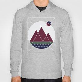 mountain lines Hoody