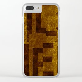 Pilsner Beer Typography Clear iPhone Case