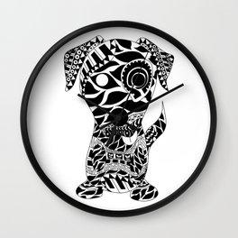 Dog Ecopet Wall Clock