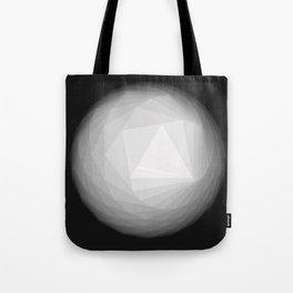 A Geometric Moon Tote Bag