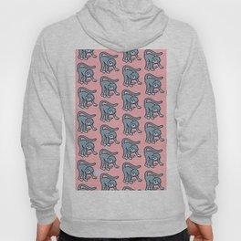 loony monkey pattern Hoody