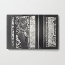 Smoke II Metal Print