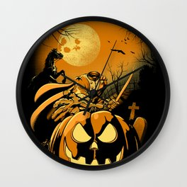 Haunted Horseman Wall Clock