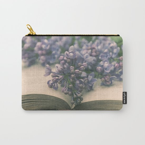 Book of LOVE - Lilacs Syringa Carry-All Pouch