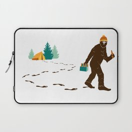 A Hairy Camp Robber Laptop Sleeve