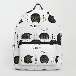 Blonde cat / poster, cat, art print, pictures, scandinavian, nursery, deco, family, art, animal, cat Backpack