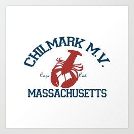 ChilMark, Martha's Vineyard. Cape Cod Art Print
