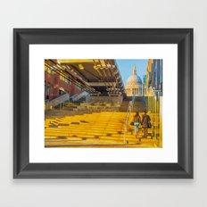 Love In London Framed Art Print